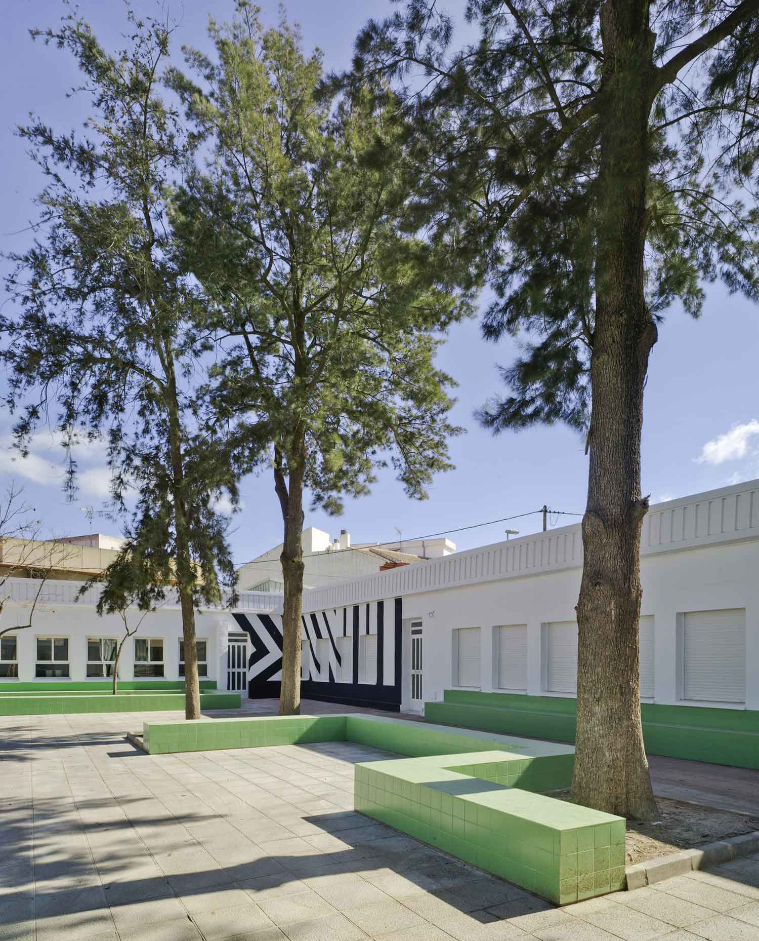 Nuestra Senora del Rosario School Renovation by Martin Lejarraga | Yellowtrace