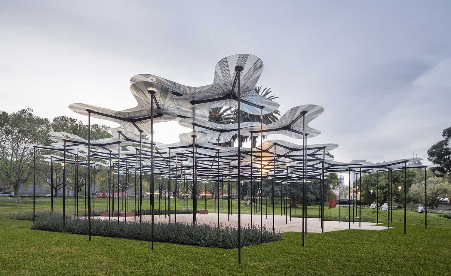 Mpavilion by amanda levete opens in melbourne for Architects melbourne
