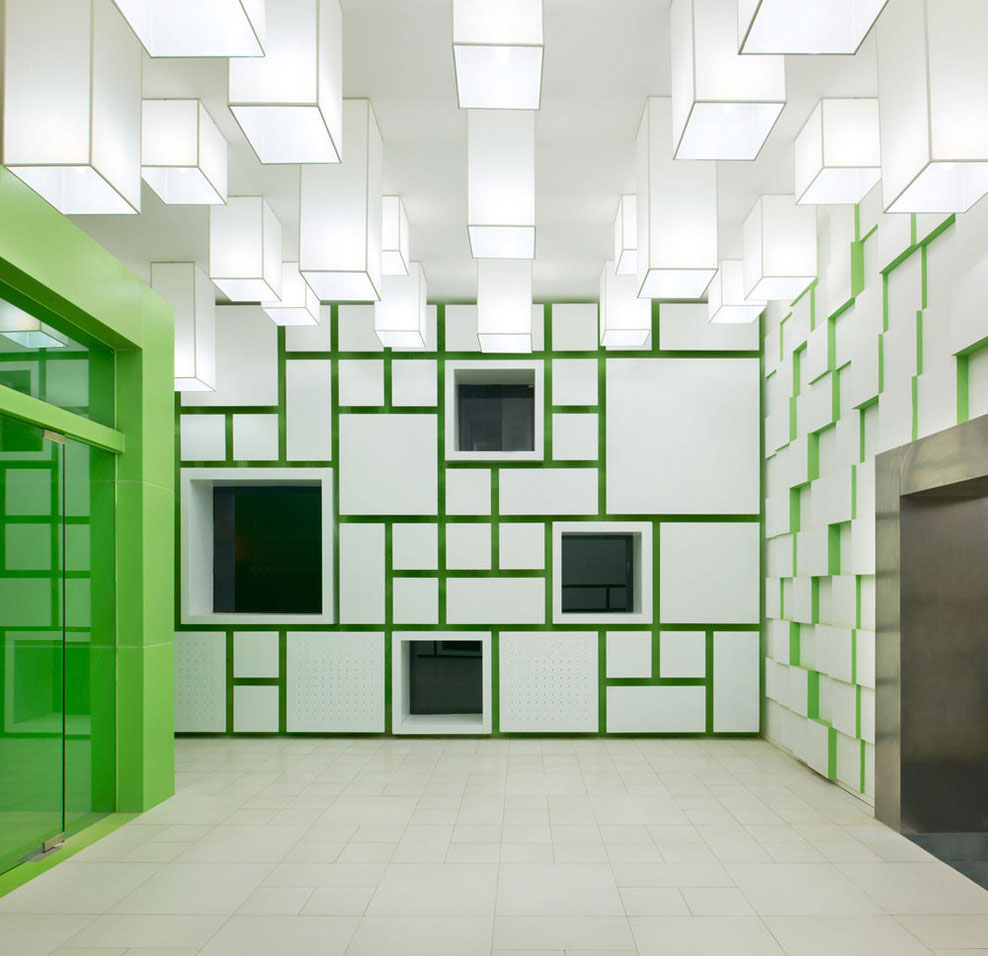 Pixel in Beijing Modelroom by SAKO Architects | Yellowtrace