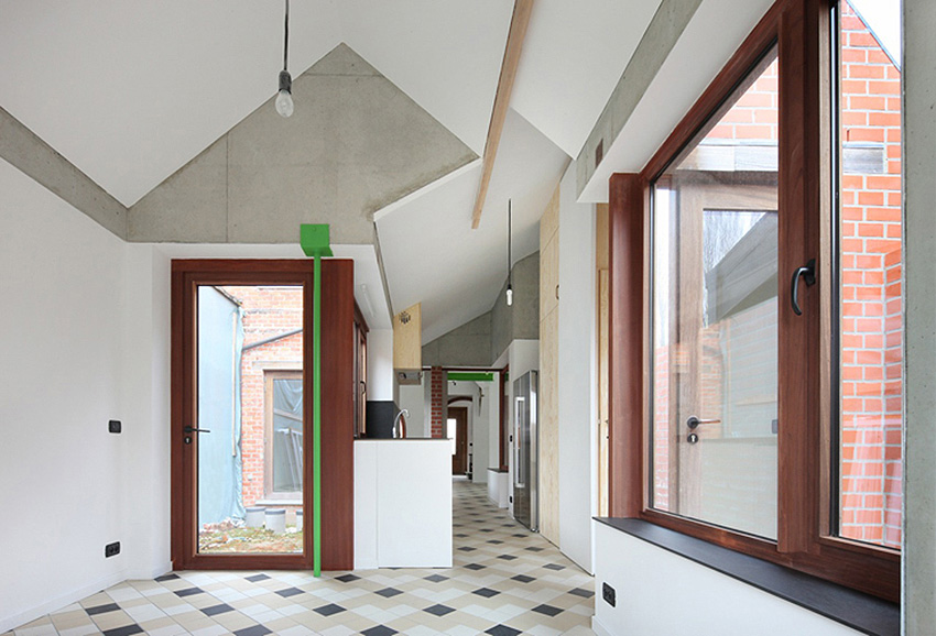 Scheeplos House Renovation by De Vylder Vinck Taillieu | Yellowtrace