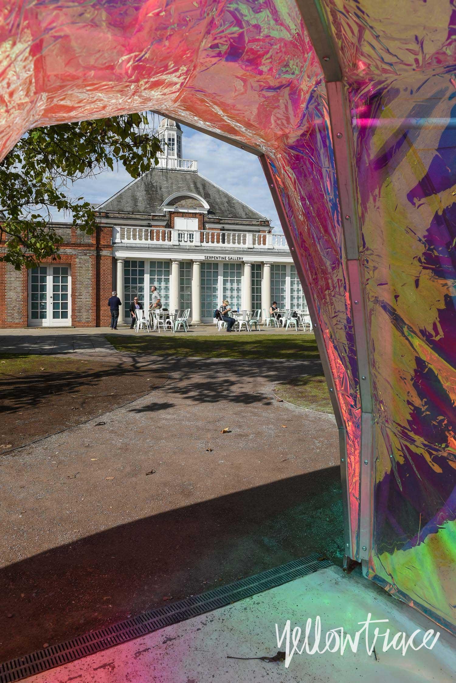 London Serpentine Pavilion 2015, Photo © Nick Hughes | Yellowtrace