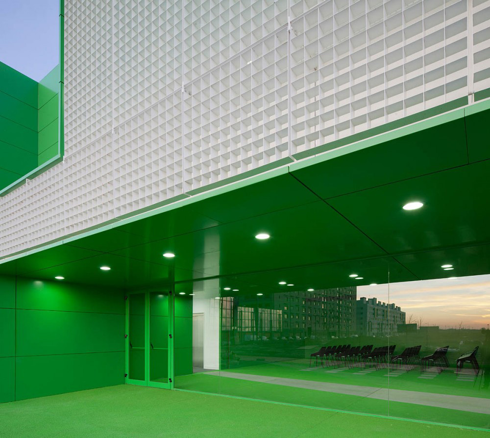 Social Services Center by Dosmasuno Arquitectos | Yellowtrace