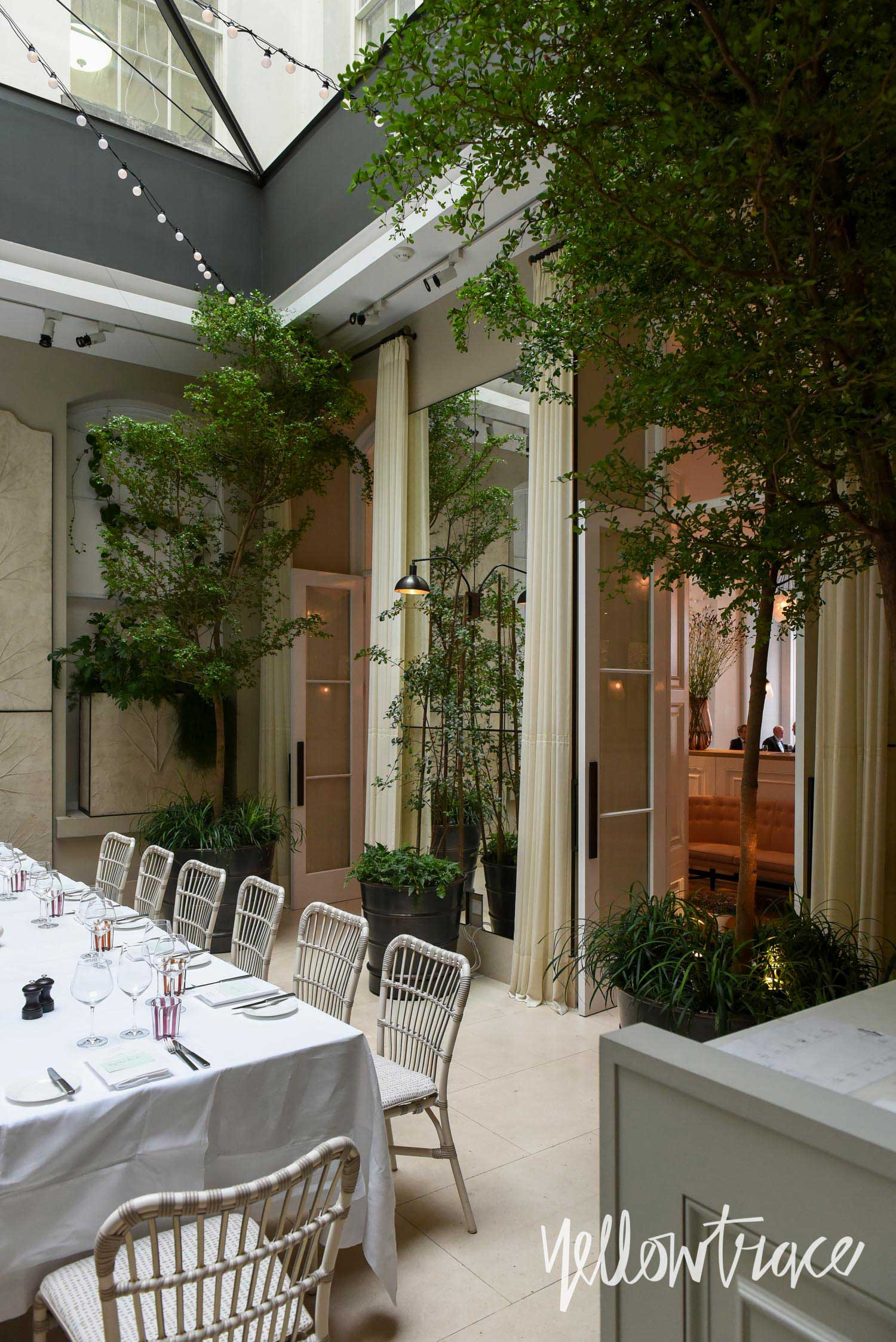Spring Restaurant, Somerset House London Design Festival 2015, Photo © Nick Hughes | Yellowtrace