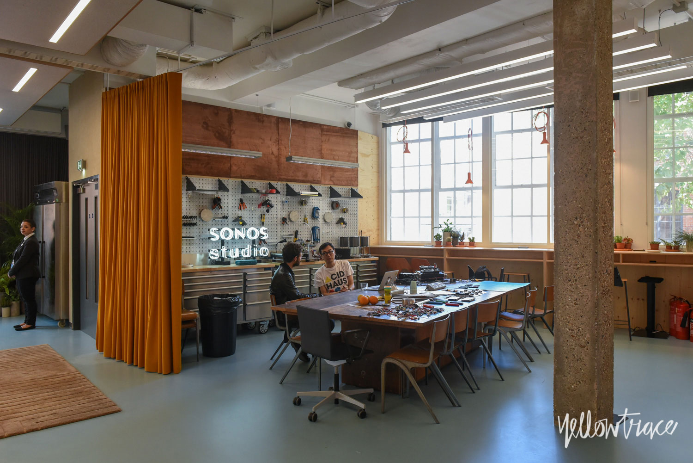 Sonos East London Studio LDF15, Photo ©Nick Hughes | Yellowtrace