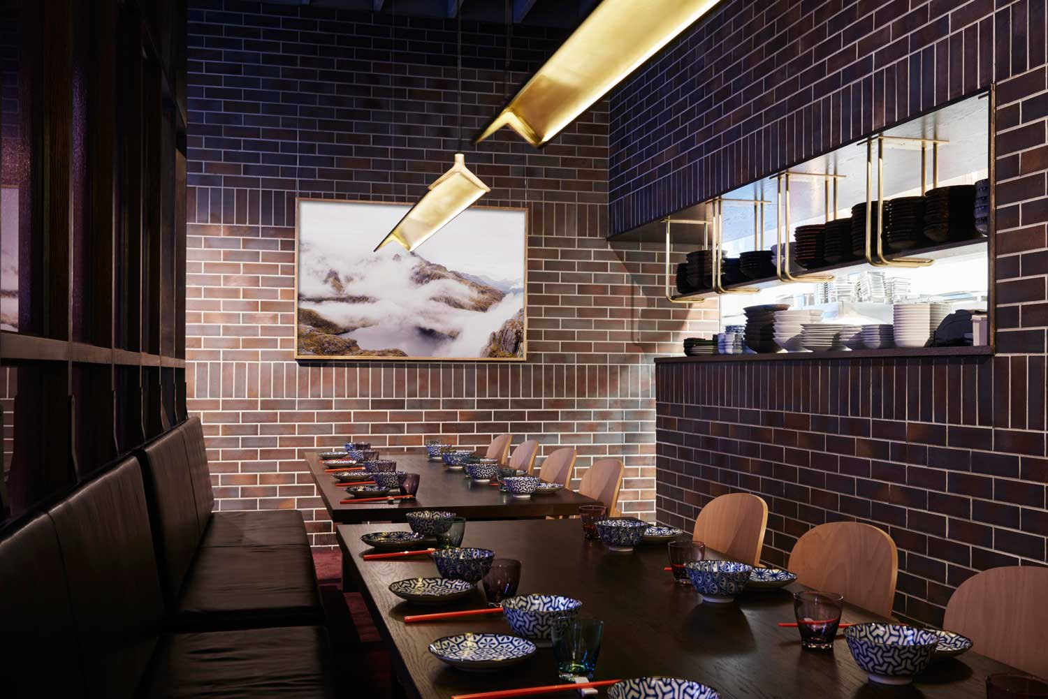39 lee ho fook 39 modern chinese restaurant by techne for Design industry melbourne