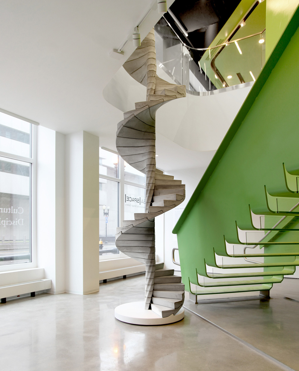 The Helix Staircase by Matter Design | Yellowtrace