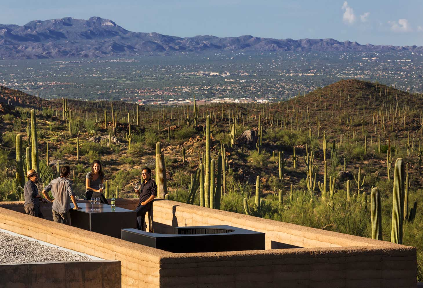 Tucson Mountain Retreat by Dust | Yellowtrace