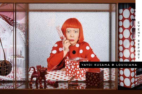 Yayoi Kusama at Louisiana Museum Copenhagen   Yellowtrace