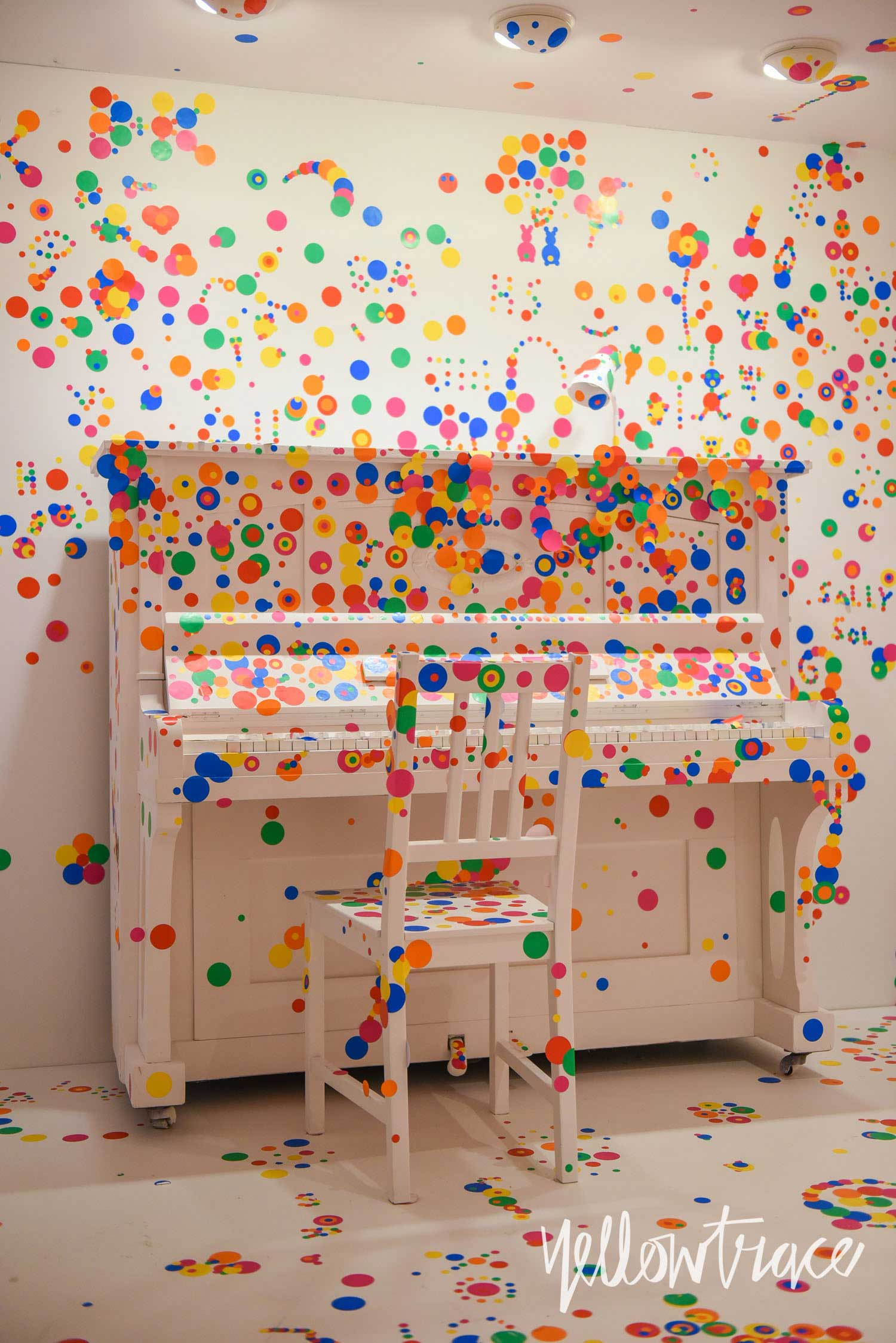 Yayoi Kusama at Louisiana Museum Denmark, Photo © Nick Hughes | Yellowtrace