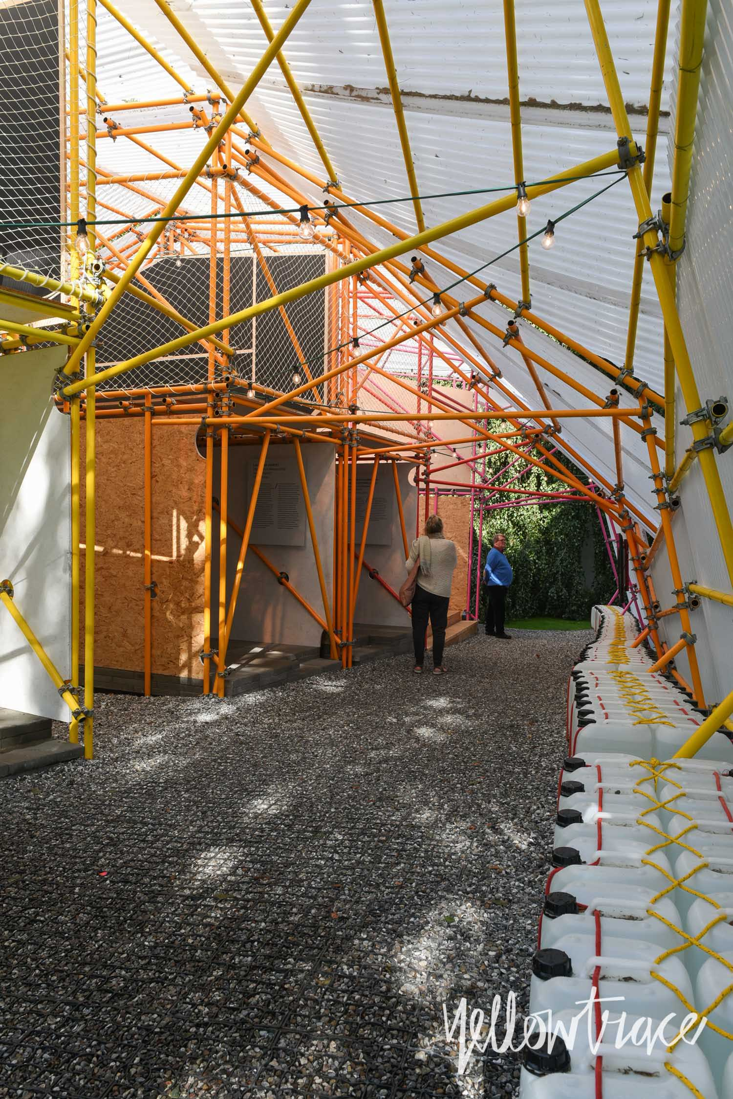 Structure by SelgasCano and helloeverything for African Architecture Exhibition at Louisiana | Yellowtrace