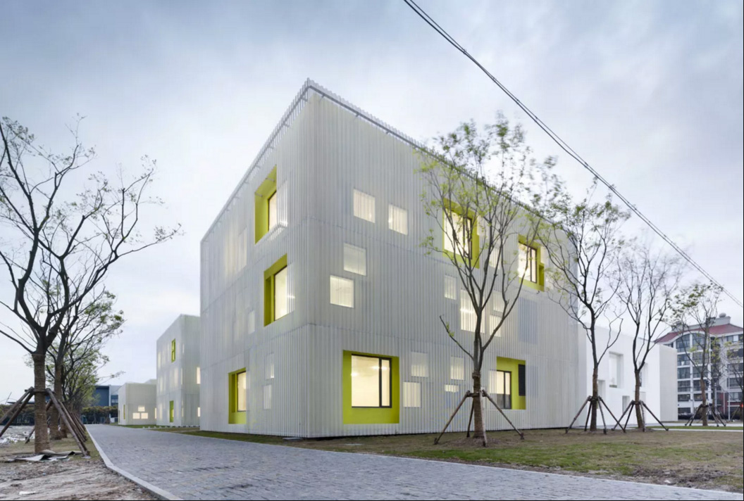 Youth Center in Qingpu New town by Atelier Deshaus | Yellowtrace