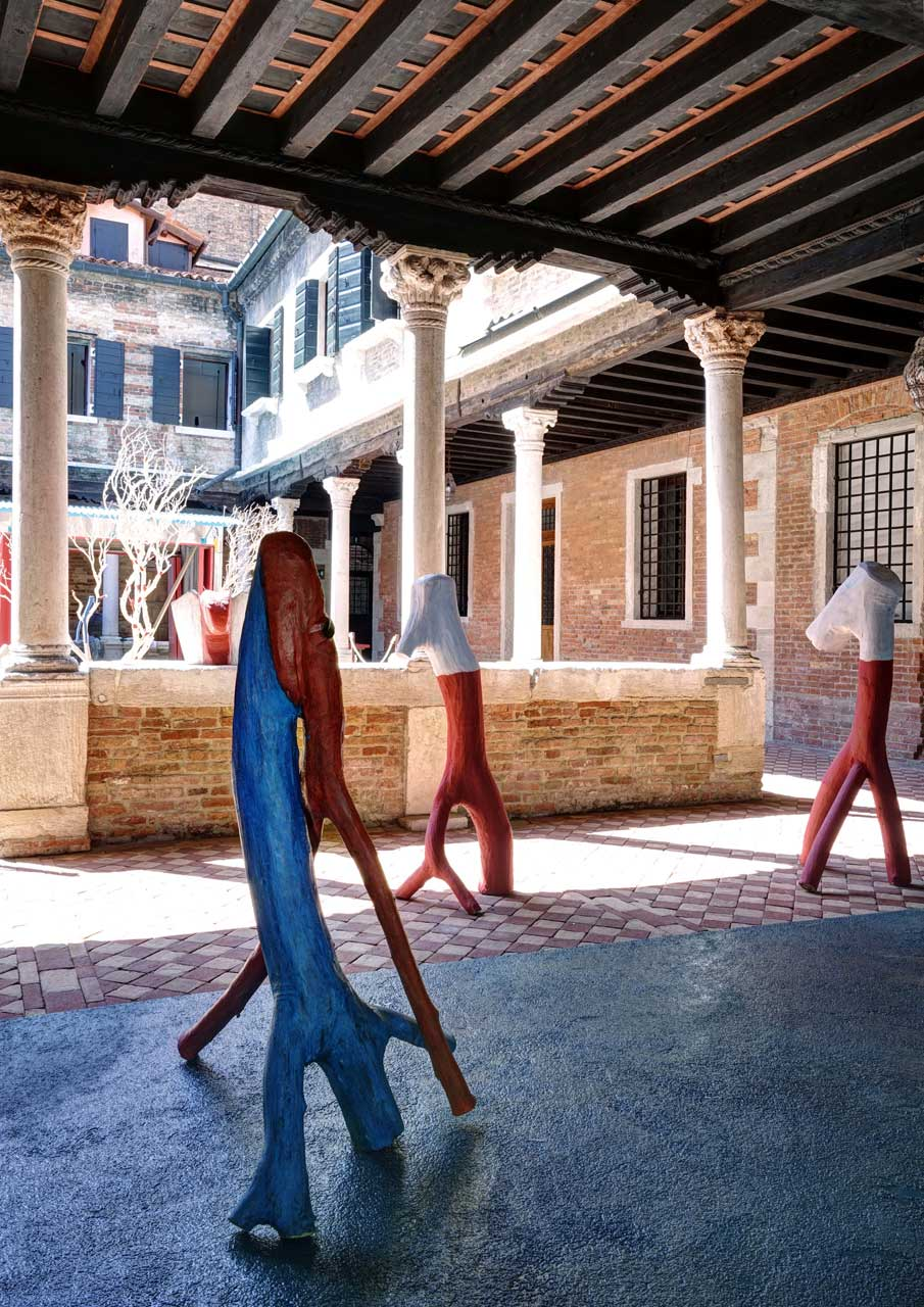 Becoming Marni Dynamic Sculptures by Veio Venice Biennale 2015   Yellowtrace