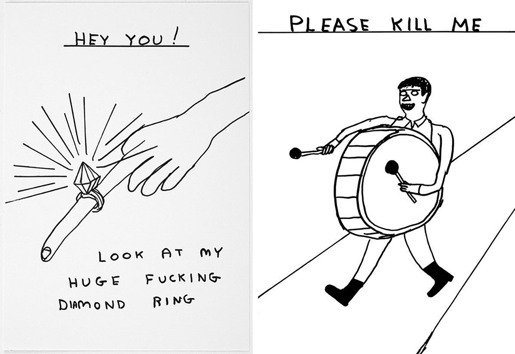 D Shrigley | Yellowtrace