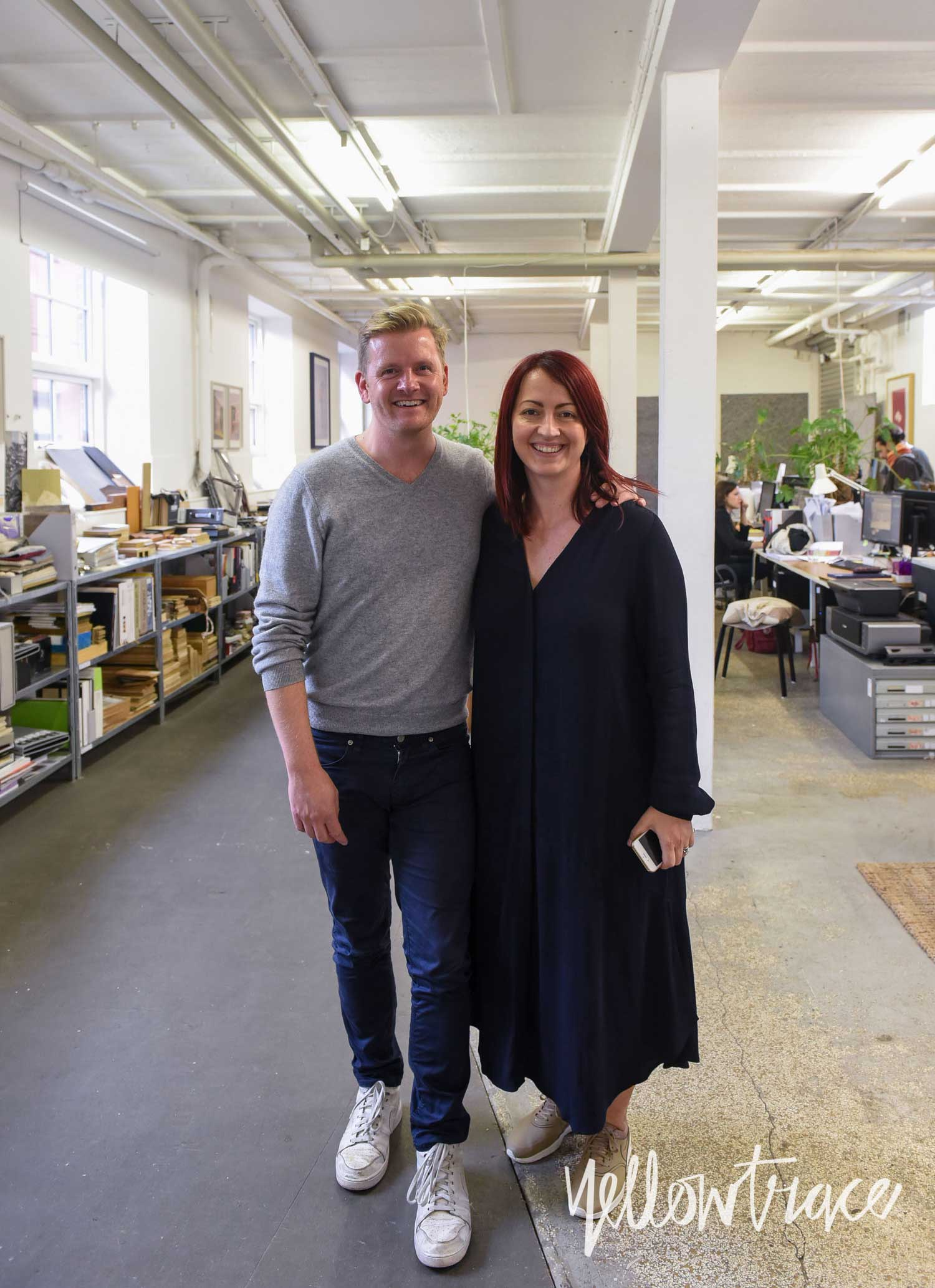 David Thulstrup & Dana Tomic Hughes in Copenhagen, Photo  ©Nick Hughes | Yellowtrace