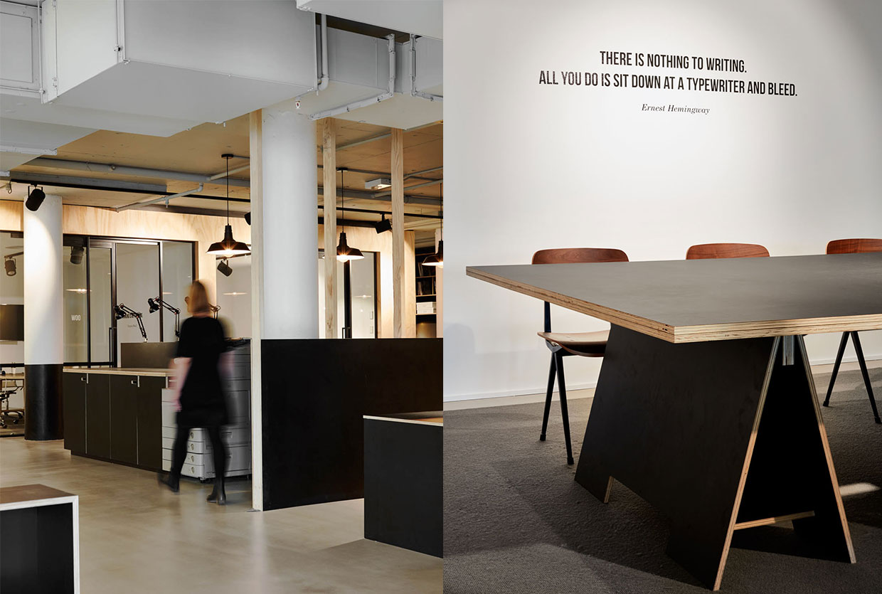 Edge Agency and Creative Oasis workplace by MAKE Creative | Yellowtrace