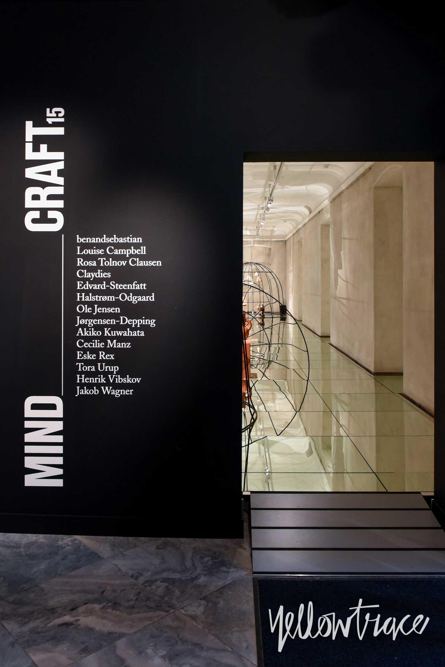 MINDCRAFT Exhibition by GamFratesi in Copenhagen, Photo ©Nick Hughes | Yellowtrace