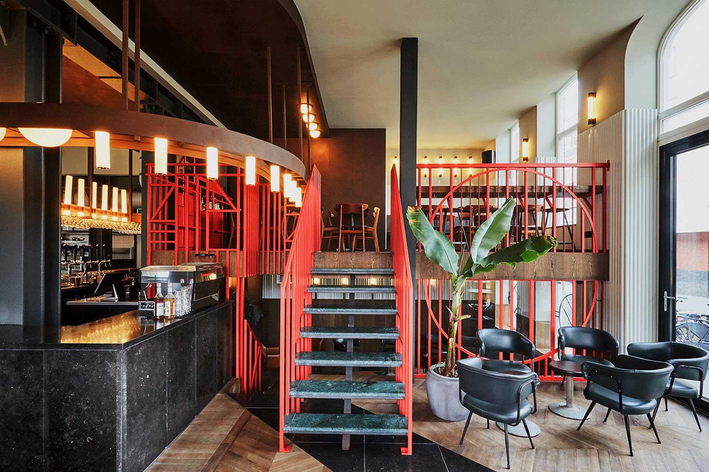 Holy smoke in rotterdam by studio modijefsky - Bar cuisine studio ...