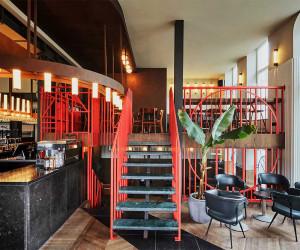 Holy Smoke Restaurant & Bar in Rotterdam by Studio Modijefsky | Yellowtrace