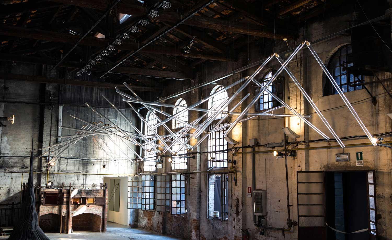 Kinetic Installation by Studio Drift Venice Biennale 2015   Yellowtrace