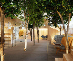 LENNE Office in Estonia by KAMP Arhitektid | Yellowtrace