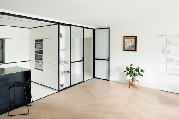 LVDV Apartment by i.s.m.architecten // Leuven, Belgium.