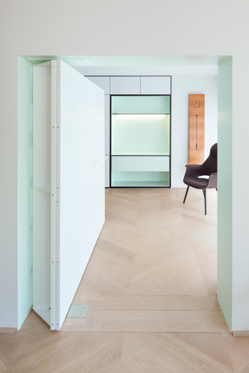 LVDV Apartment by i.s.m.architecten // Leuven, Belgium   Yellowtrace