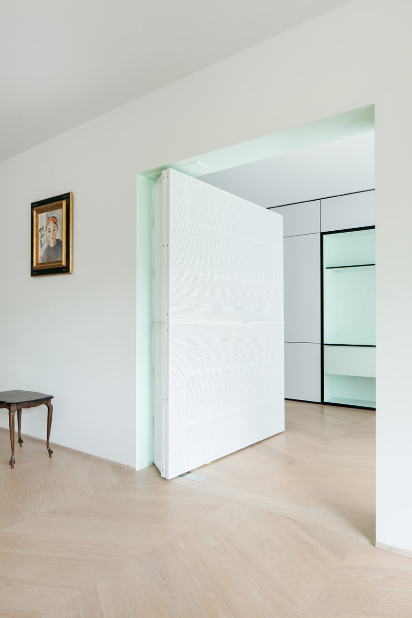 LVDV Apartment by i.s.m.architecten // Leuven, Belgium | Yellowtrace
