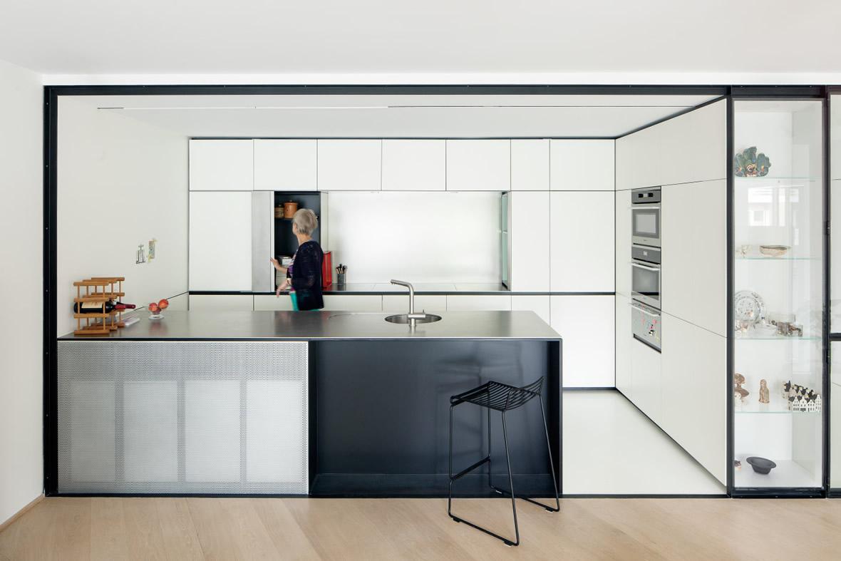 LVDV Apartment by i.s.m.architecten // Leuven, Belgium.