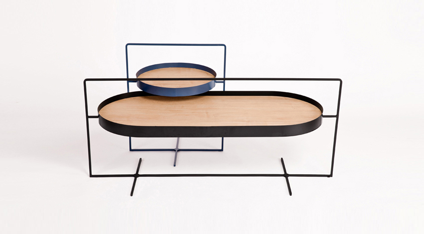 Minimalistic Basket Tables by Mario Tsai | Yellowtrace