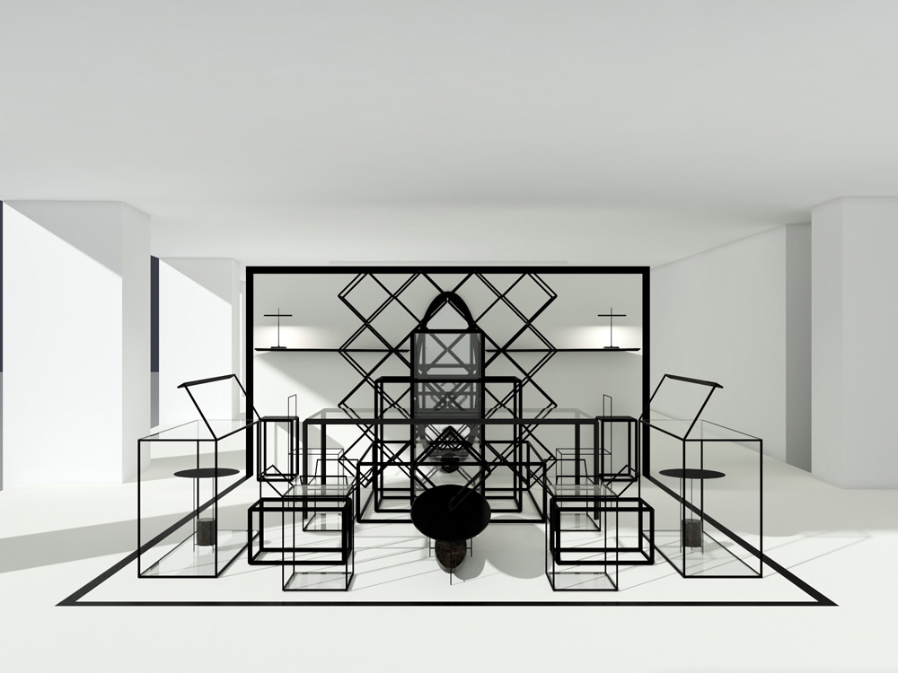 Molteni&C Installation Ron Gilad London Design Festival | Yellowtrace
