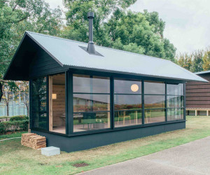 Muji Unveils Three Tiny Prefab Houses | Yellowtrace