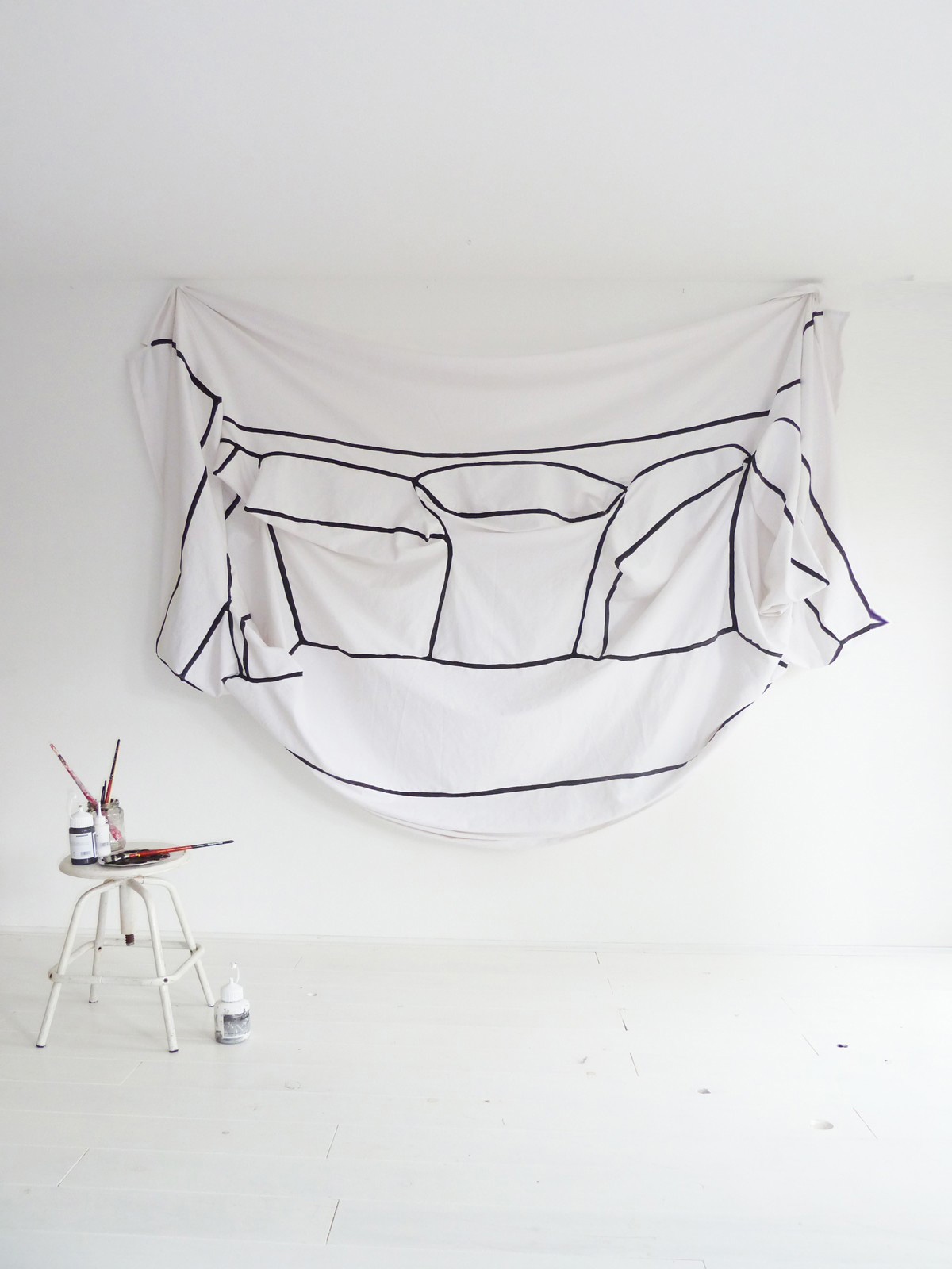 My Couch, My Canvas by Annebet Philips | Yellowtrace
