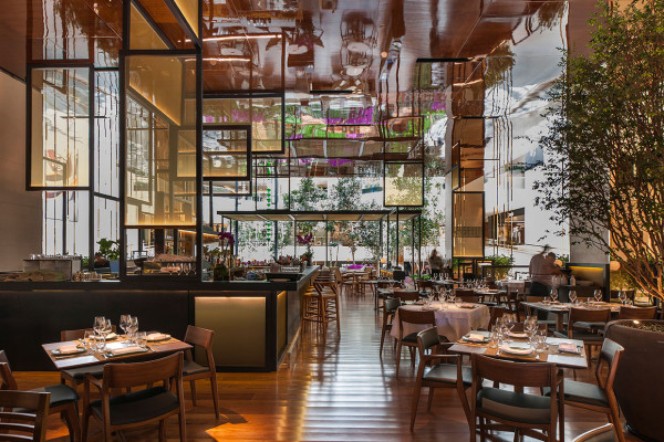 Piselli Sao Paulo Restaurant in a Garden by Eric Carlson | Yellowtrace