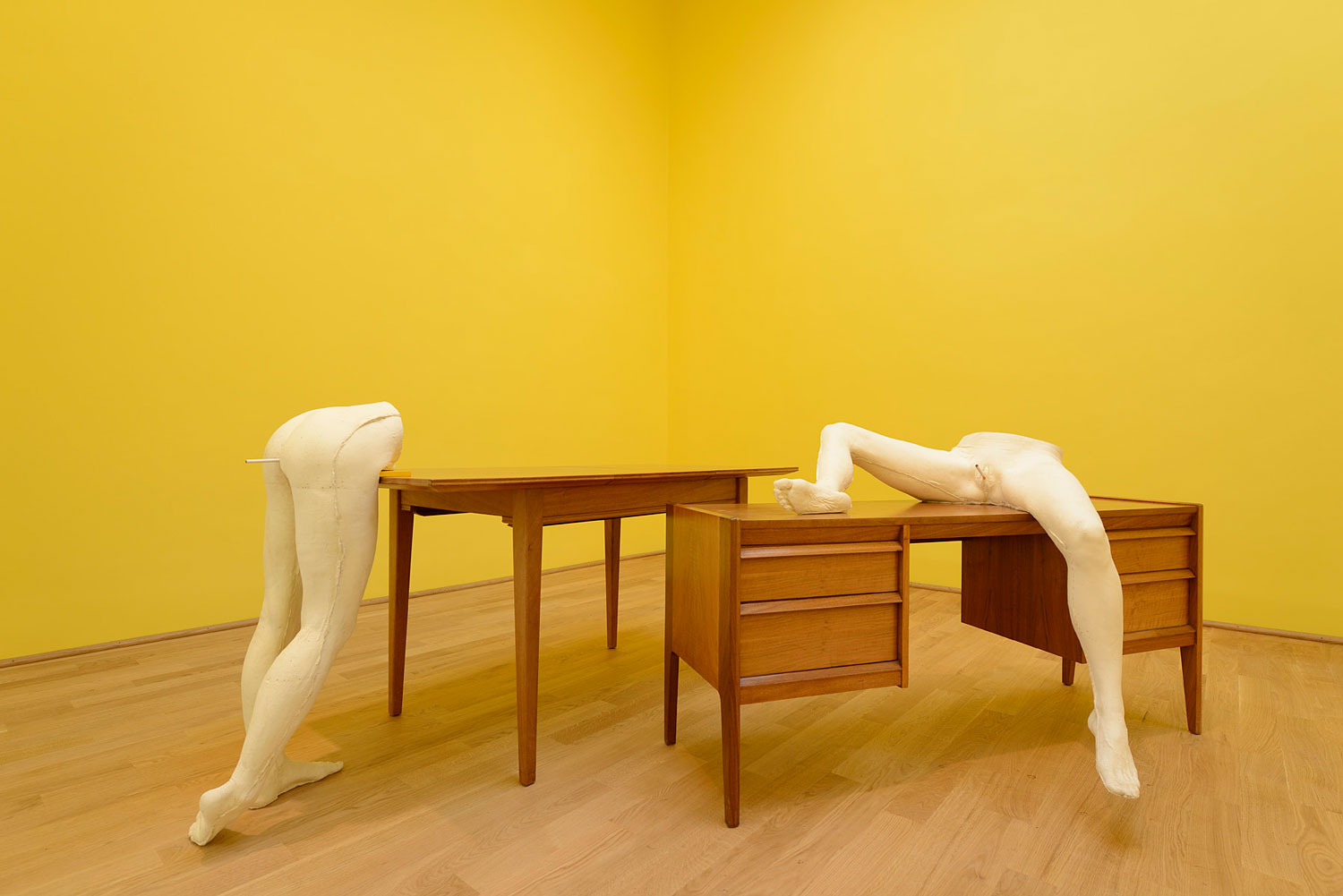Scream Daddio by Sarah Lucas at British Pavilion Venice Biennale 2015. Photo by Cristiano Corte   Yellowtrace