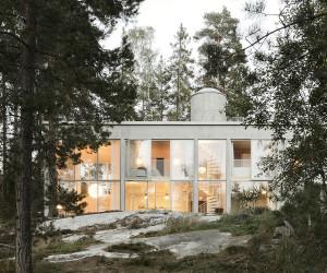 Six Walls House by Arrhov Frick Arkitektkontor | Yellowtrace