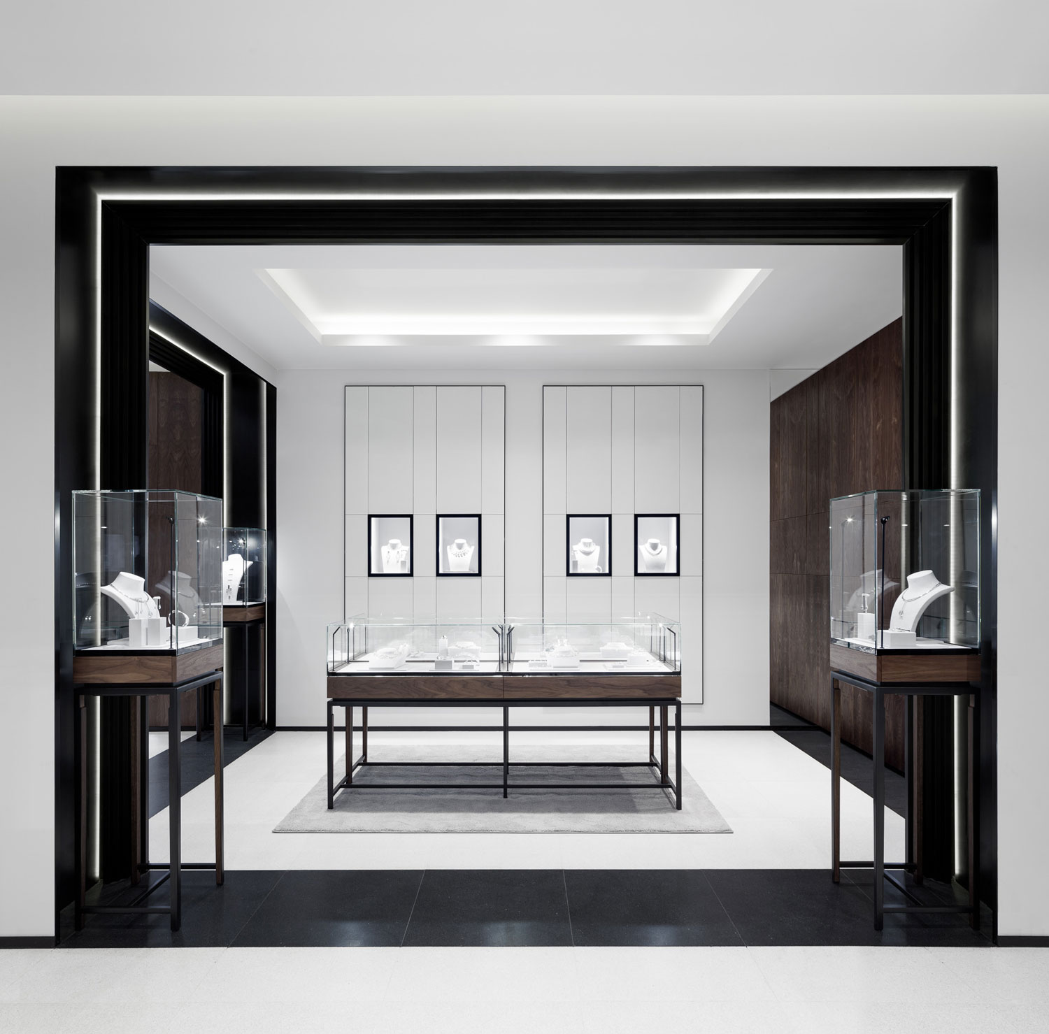 Georg jensen 39 s london boutique by studio david thulstrup for High design jewelry nyc