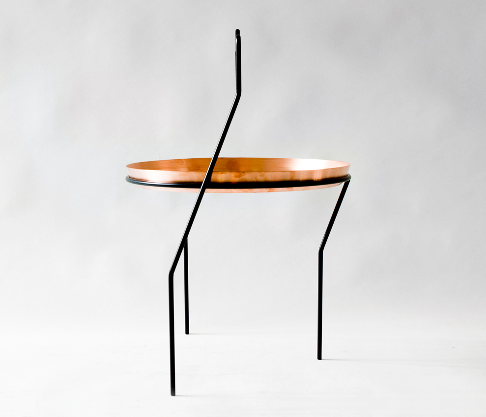 Three Legged Tea Table by Alex Valder | Yellowtrace