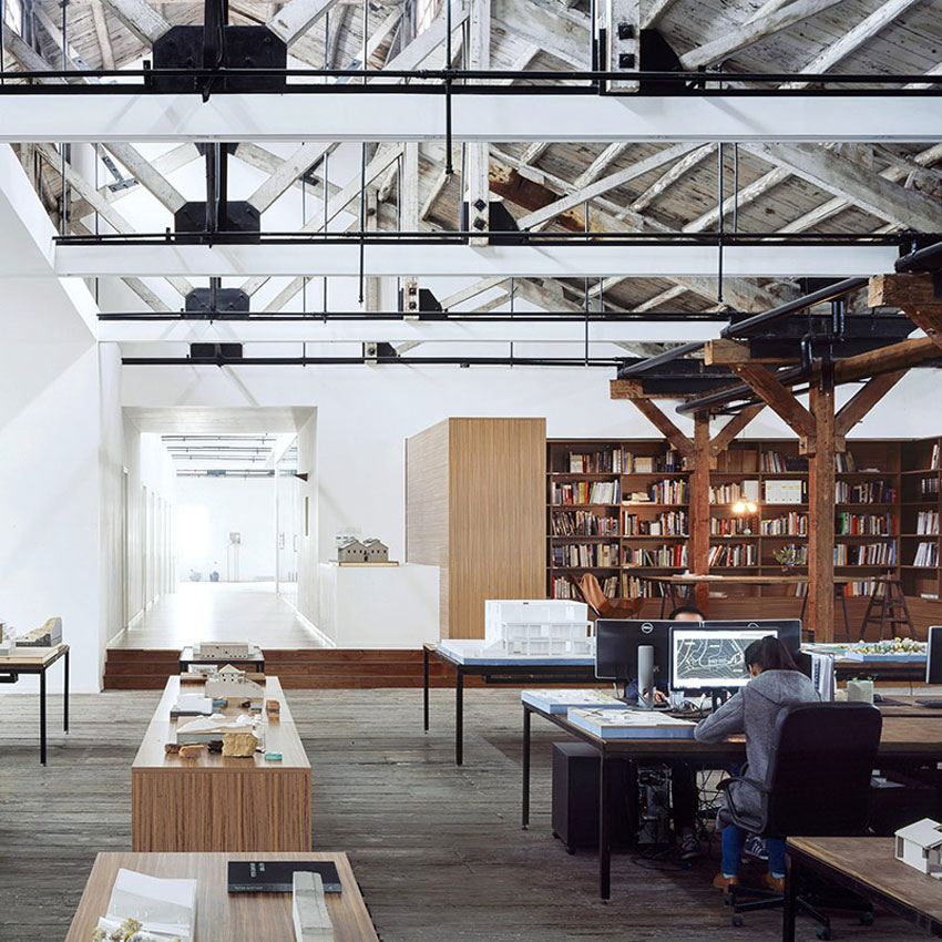 Waimatou Co-working Loft by Natural Build Operation in Shanghai China   Yellowtrace