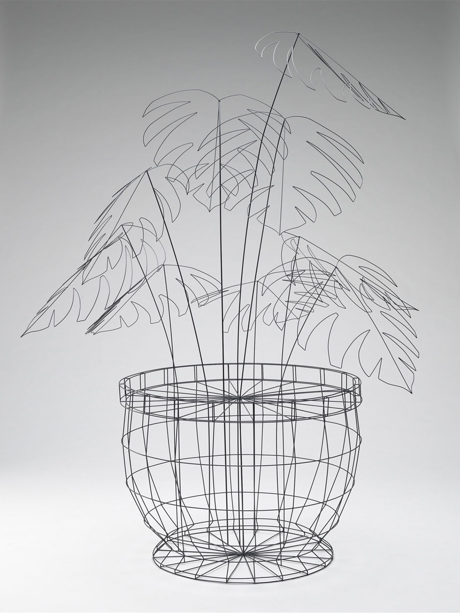 Wire Frame Furniture by NOIZ Architects | Yellowtrace