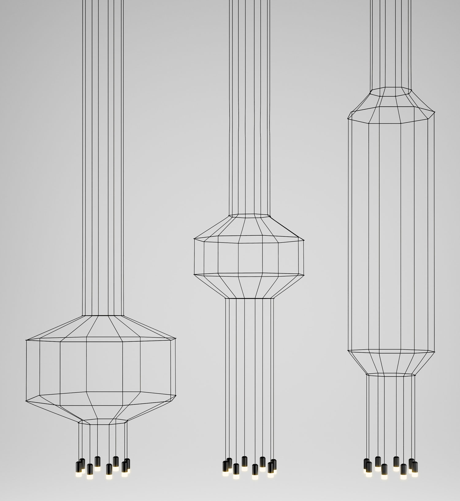 Wireflow Pendant by Arik Levy for Vibia | Yellowtrace