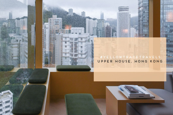 #YellowtraceTravels: The Upper House Hong Kong. Photo Nick Hughes .