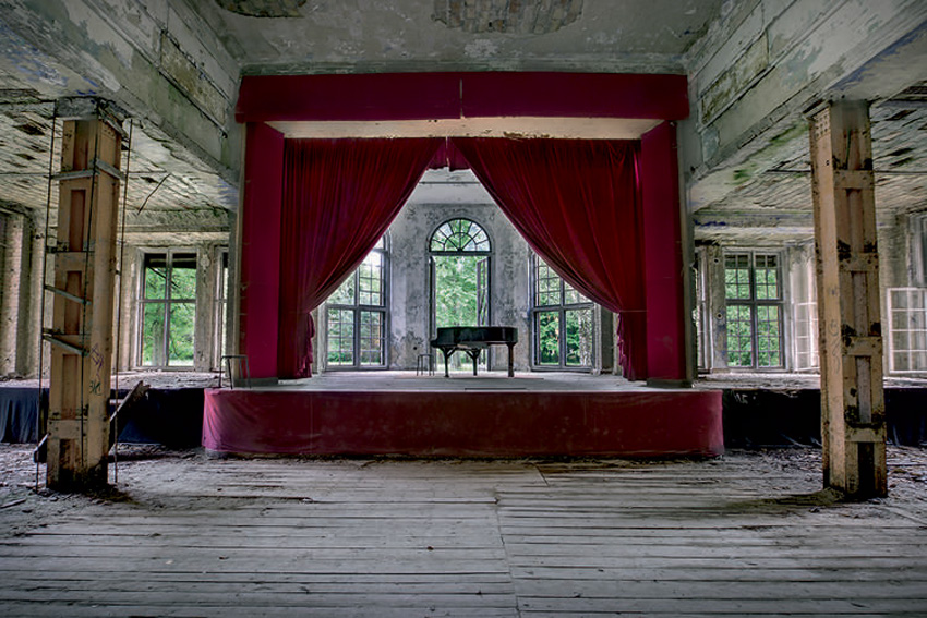 Abandoned Soviet Architecture Photographed by Rebecca Litchfield | Yellowtrace