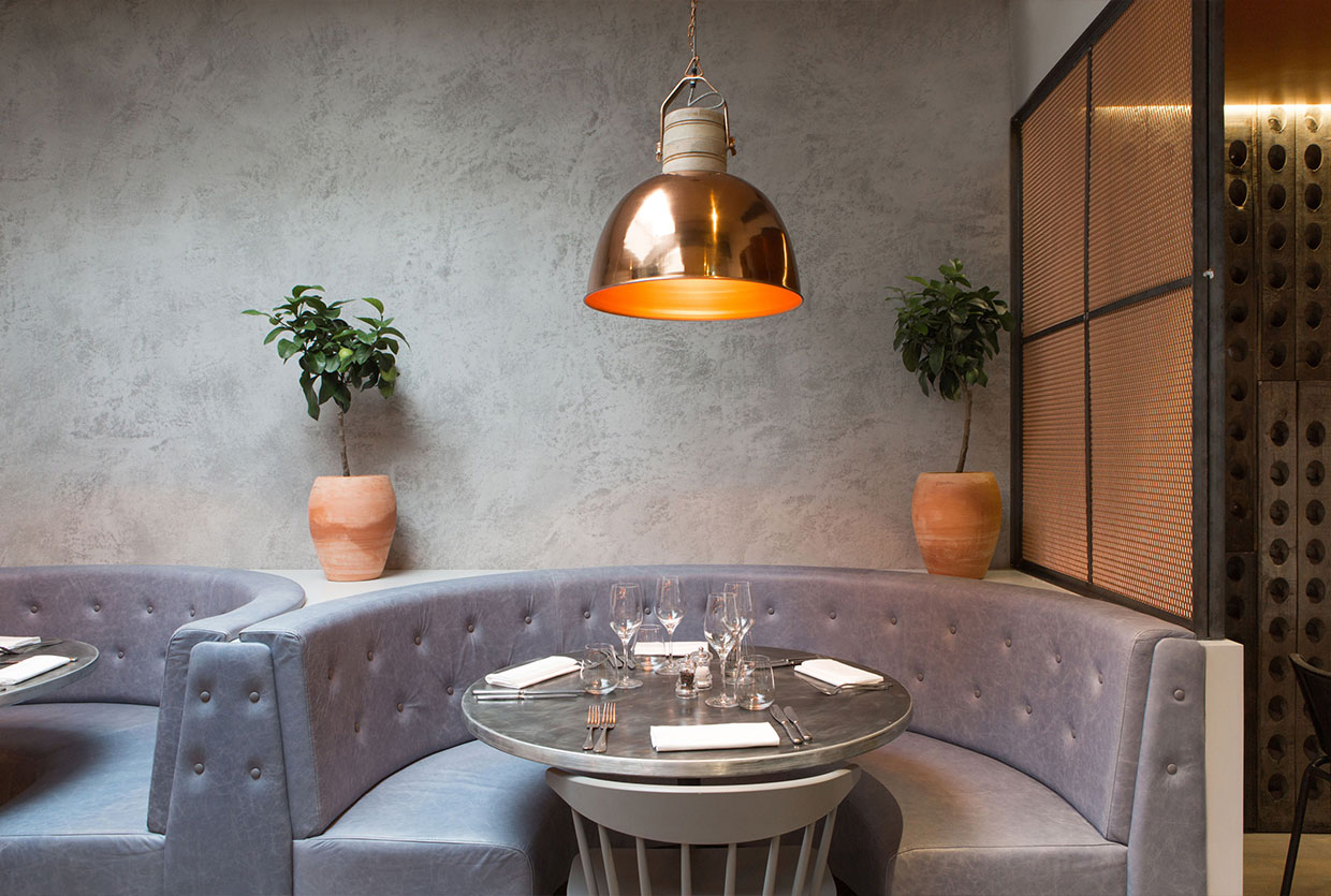 Bandol Restaurant by Kinnersley Kent Design | Yellowtrace