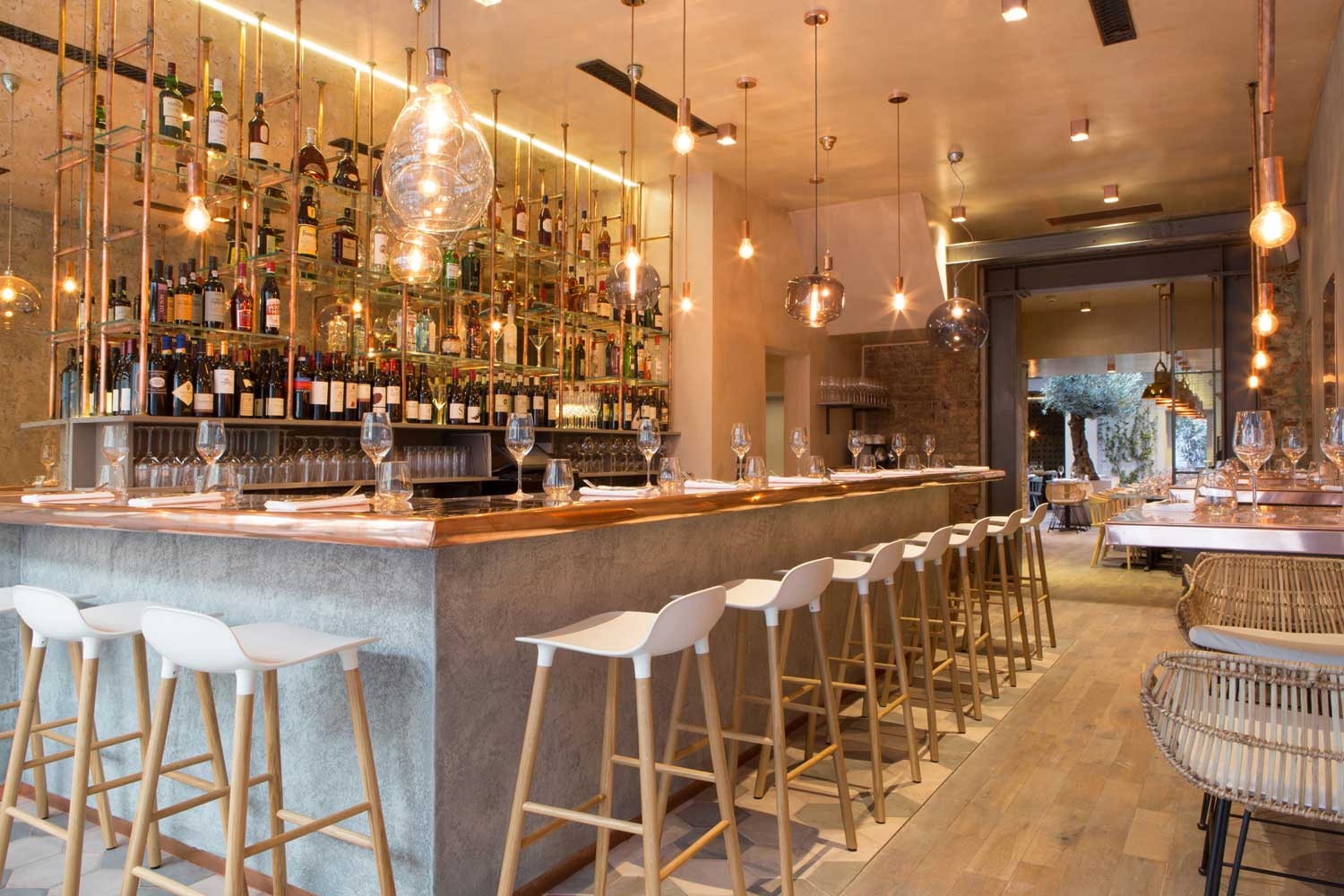 Bandol Bar Amp Restaurant By Kinnersley Kent Design