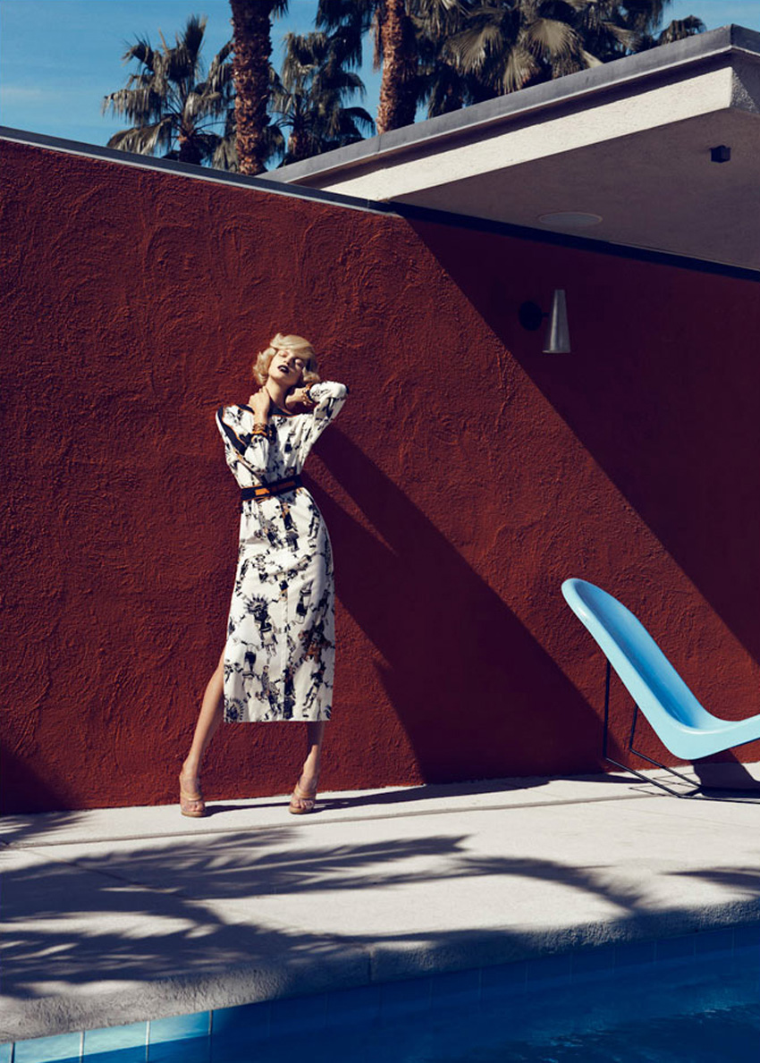 Bette Franke by Lachlan Bailey for Harper's Bazaar US February 2012 | Yellowtrace
