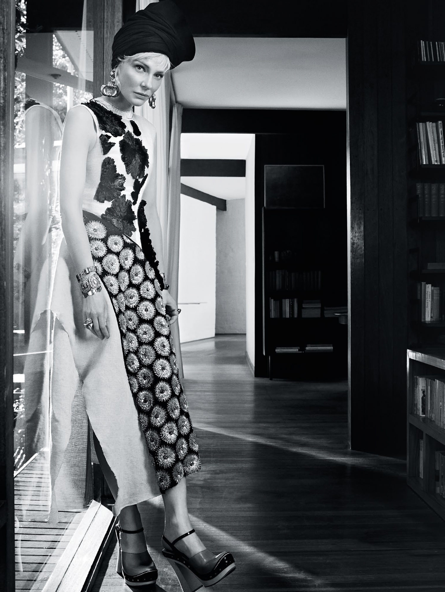 Cate Blanchett for Vogue Australia April 2015. Photo by Emma Summerton | Yellowtrace