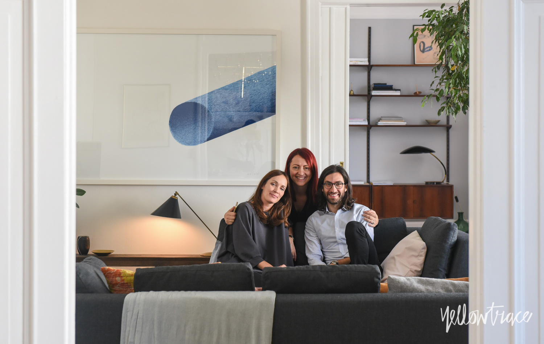 Dana Tomic Hughes at Home With GamFratesi in Copenhagen, Photo ©Nick Hughes | Yellowtrace