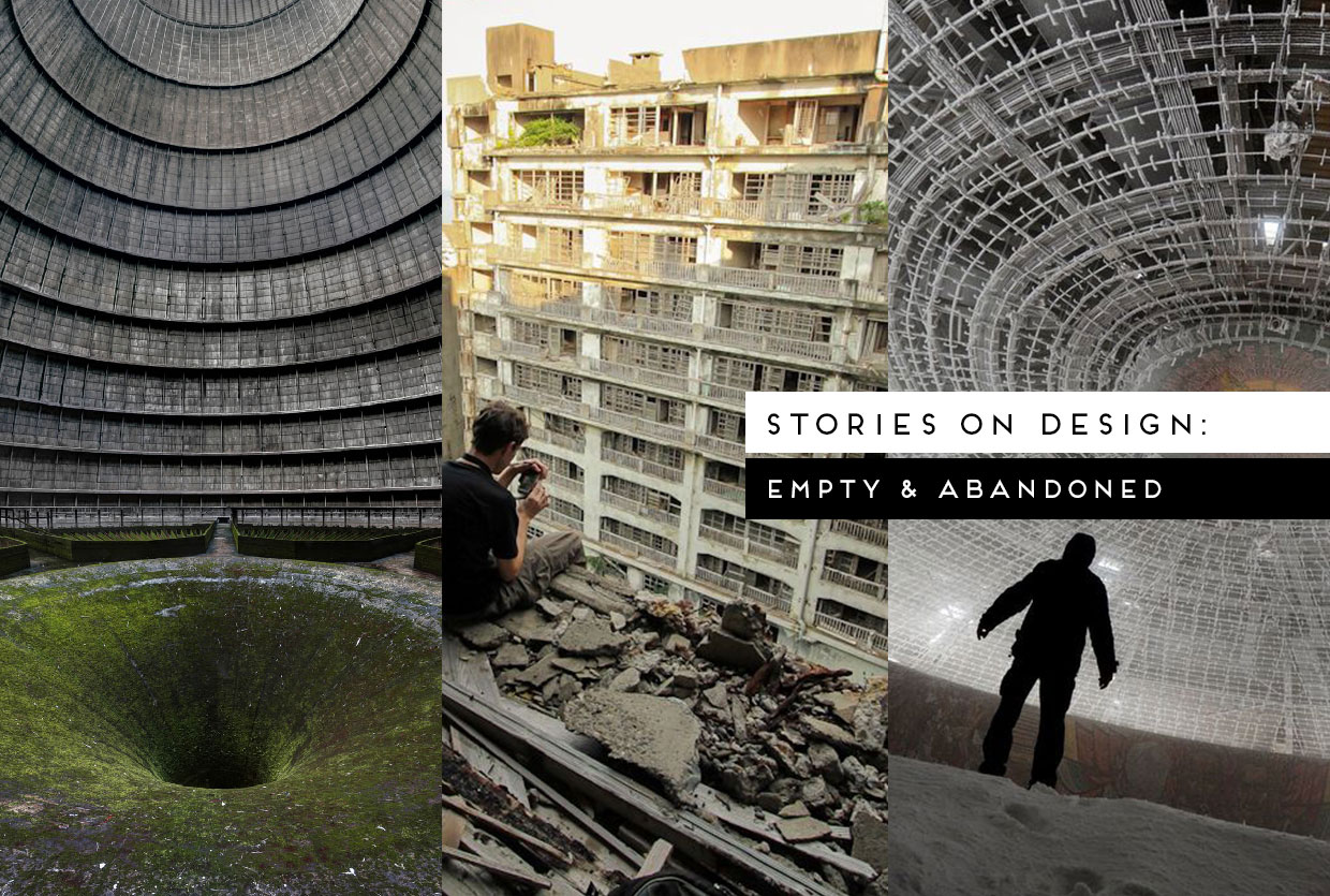 Stories on Design: Empty and Abandoned Buildings, Curated by Yellowtrace
