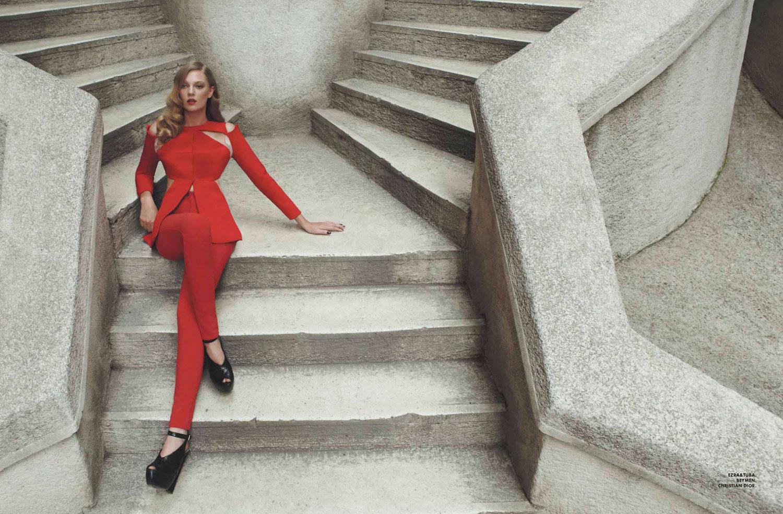 Emre Guven for Elle Mexico December 2012 | Yellowtrace
