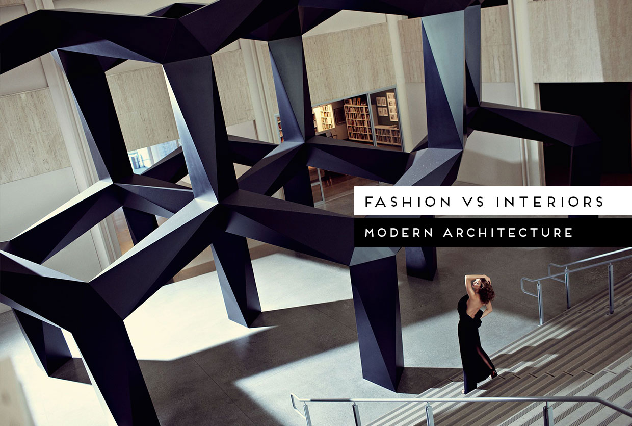 Fashion vs Interiors: Modern Architecture Edition, Curated by Yellowtrace